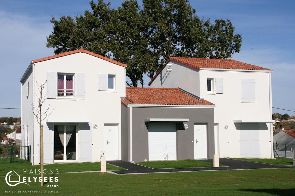 Maisons groupées sur Saintes en Charente Maritime 17