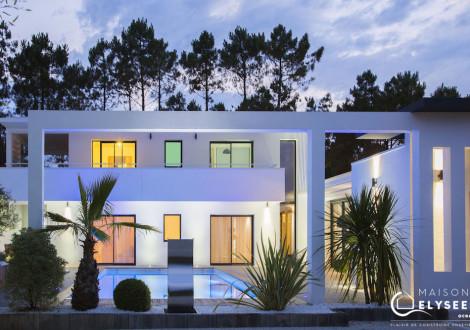 Maison d'architecte inspirée de la Californie