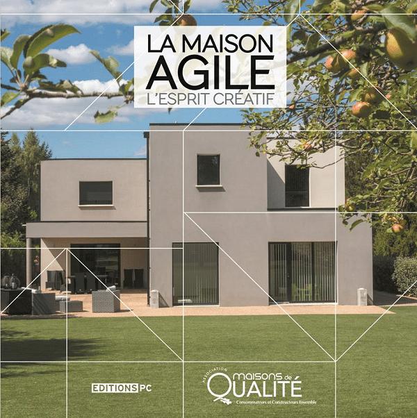 livre mamaison agile fait avec des constructeurs de maisons en Charente Maritime 17