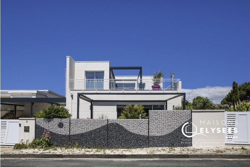 Construction maison contemporaine Vaux sur mer 17