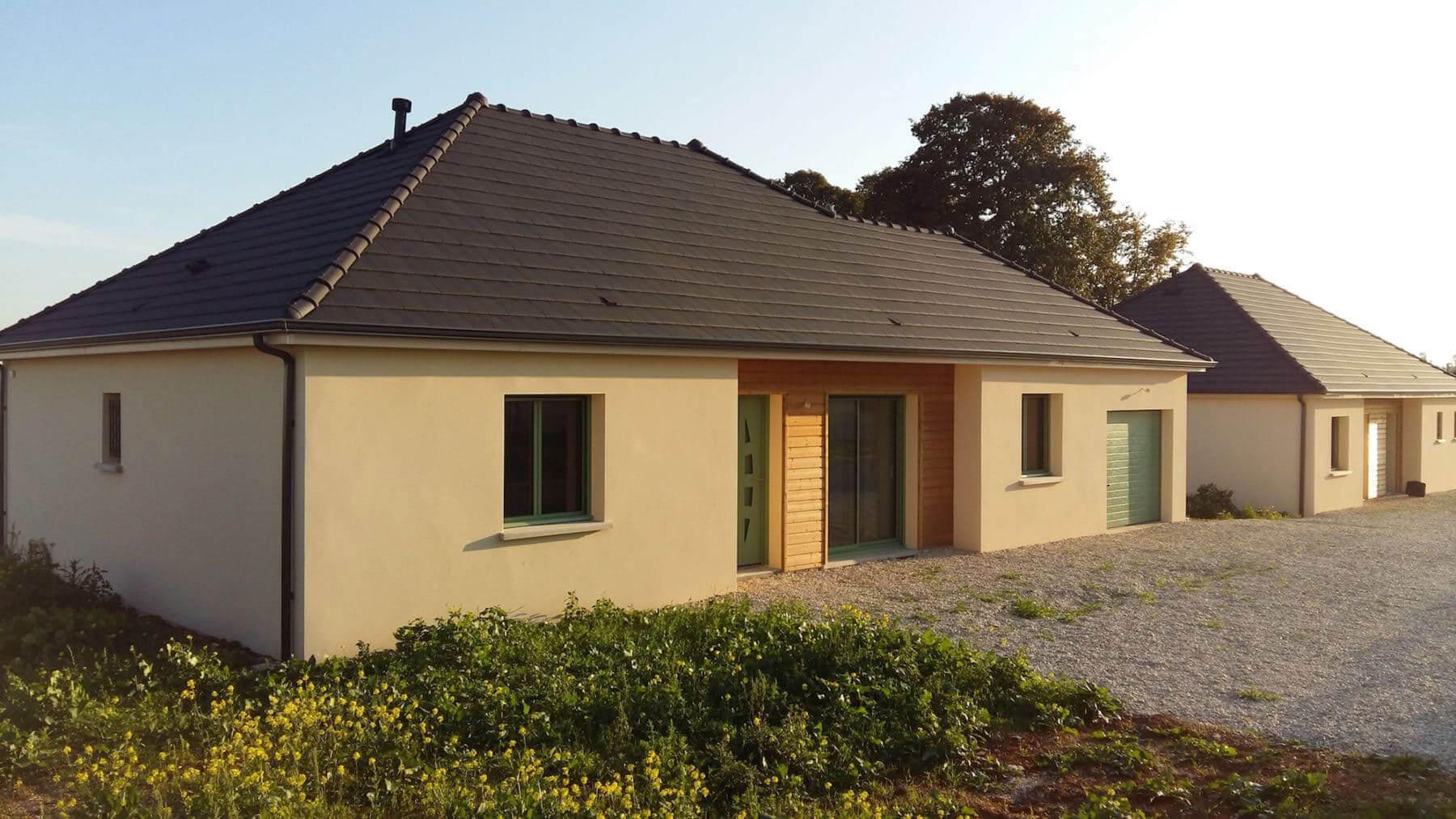 Avis Constructeur Couleur Villas elena - maison traditionnelle avec plan en l