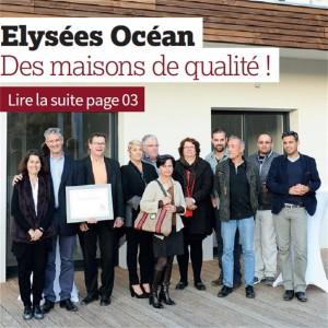 Maisons elysees océan constructeur agréé Maisons de qualité 17