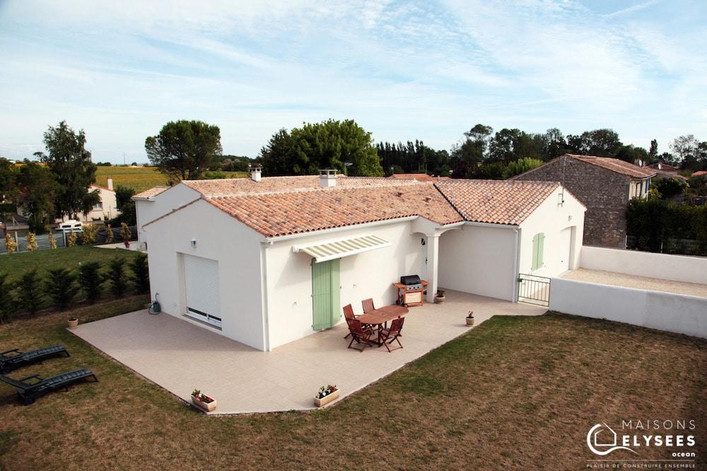 Maison spécial investisseurs en L de plain pied Royan en Charente Maritime