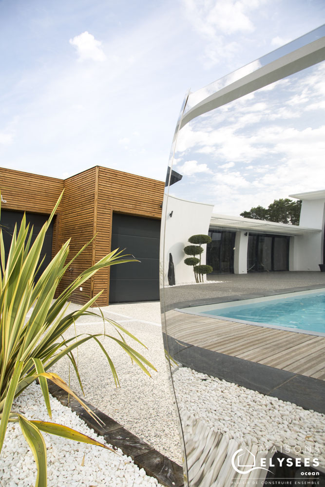 Maison architecte bord de mer clin bois 3