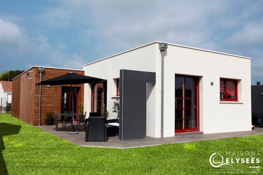 Maison bois investissement locatif pinel construite sur Saujon (17)