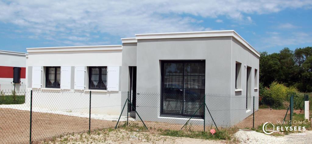 Maison contemporaine sans se ruiner sur Saujon lotissement de standing Charente Maritime