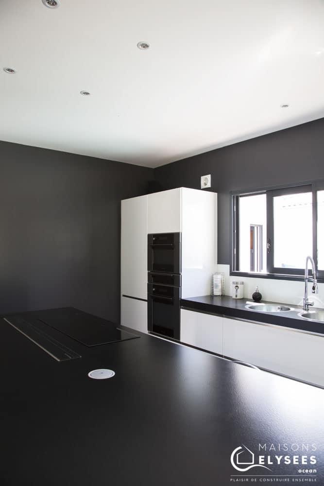 Maison moderne avec Bois  basse consommation 7