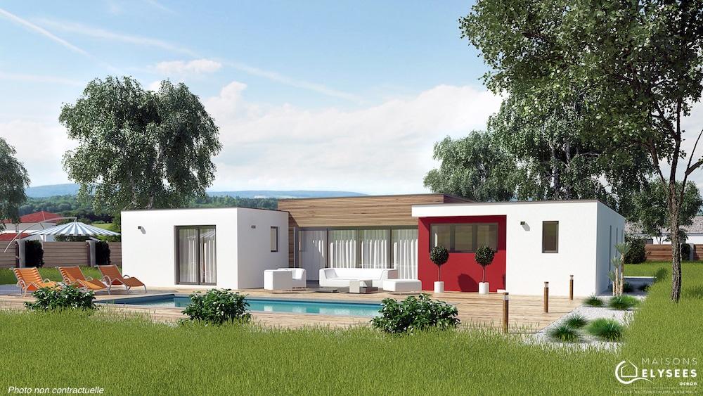 Efficium - villa moderne de plain pied