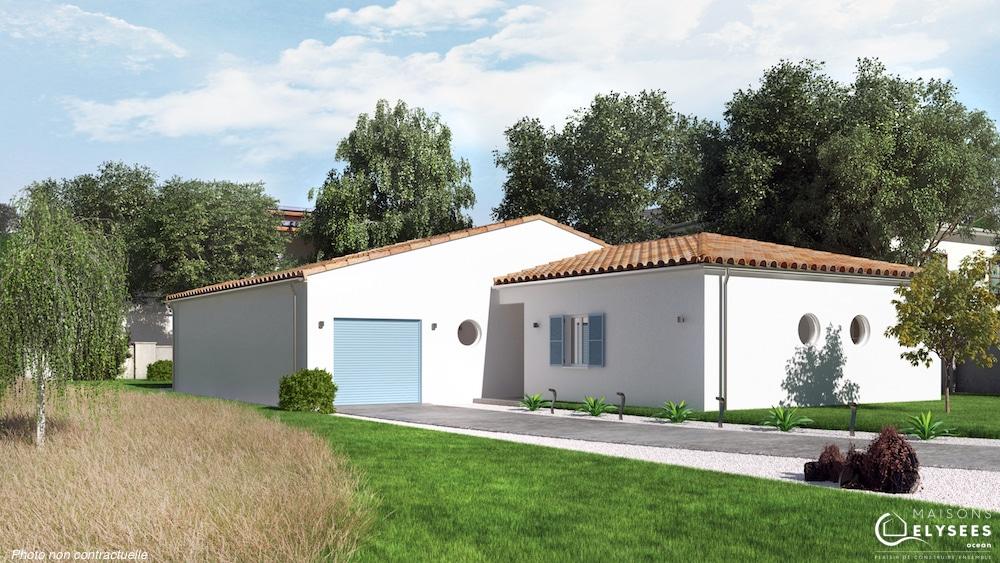Noria maison de charme autour d 39 une terrasse for Modele maison 2016