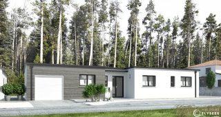 Modele Maison contemporaine  front Dualium