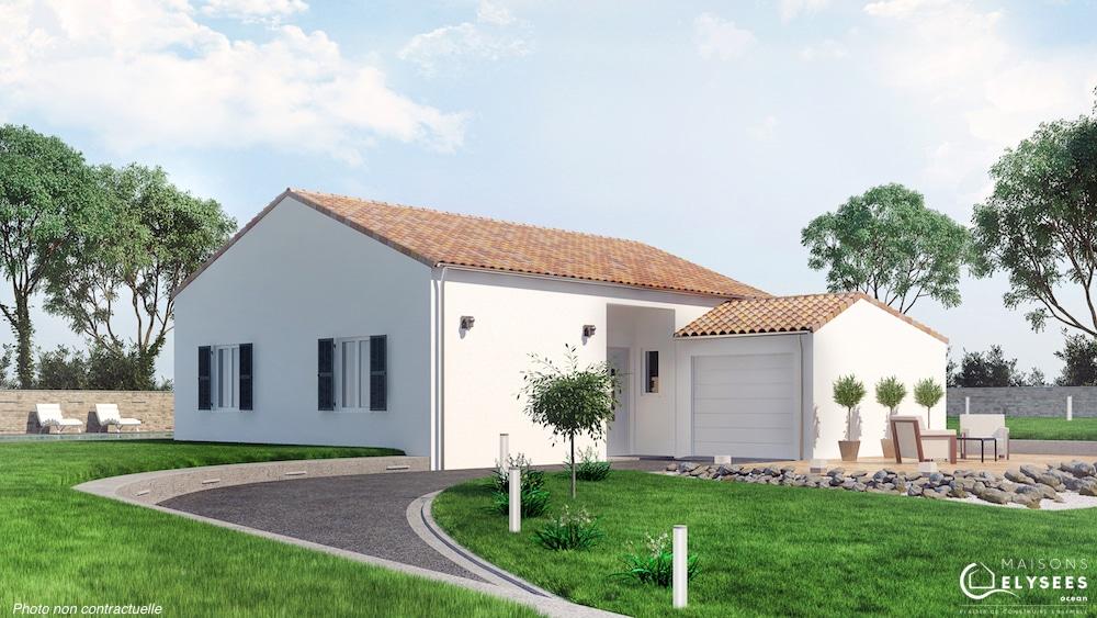 Modele Maison traditionnelle à petit prix Iona