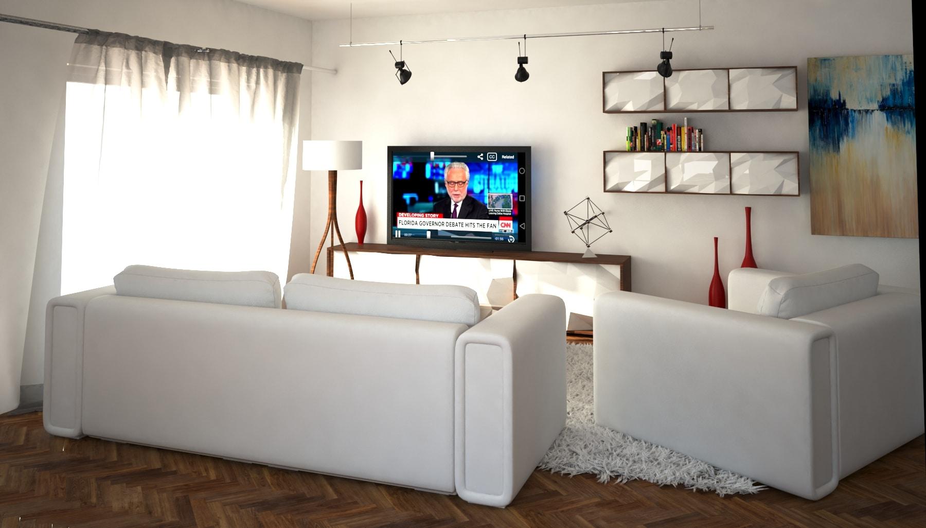Okapia salon vue intérieure