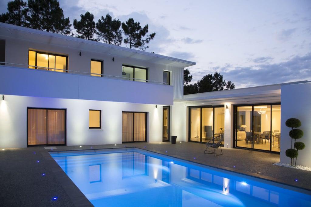 Venez voir nos maisons a la palmyre - Plan maison californienne ...