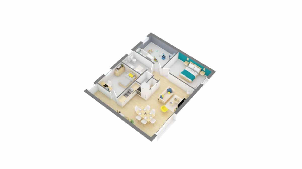 Plan Maison Okapia 5