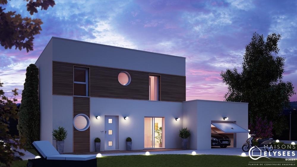 Maison à étage de style contemporain Rochefort 17