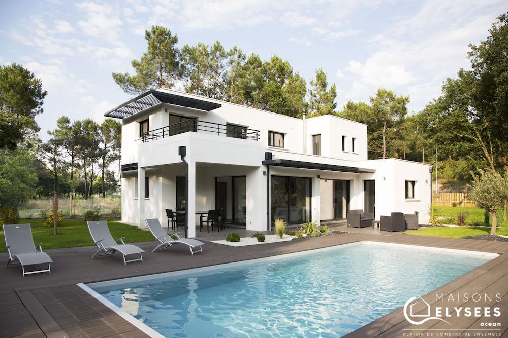 ... Magnifique Maison Contemporaine Du0027architecte Sur La Palmyre En Charente  Maritime ...