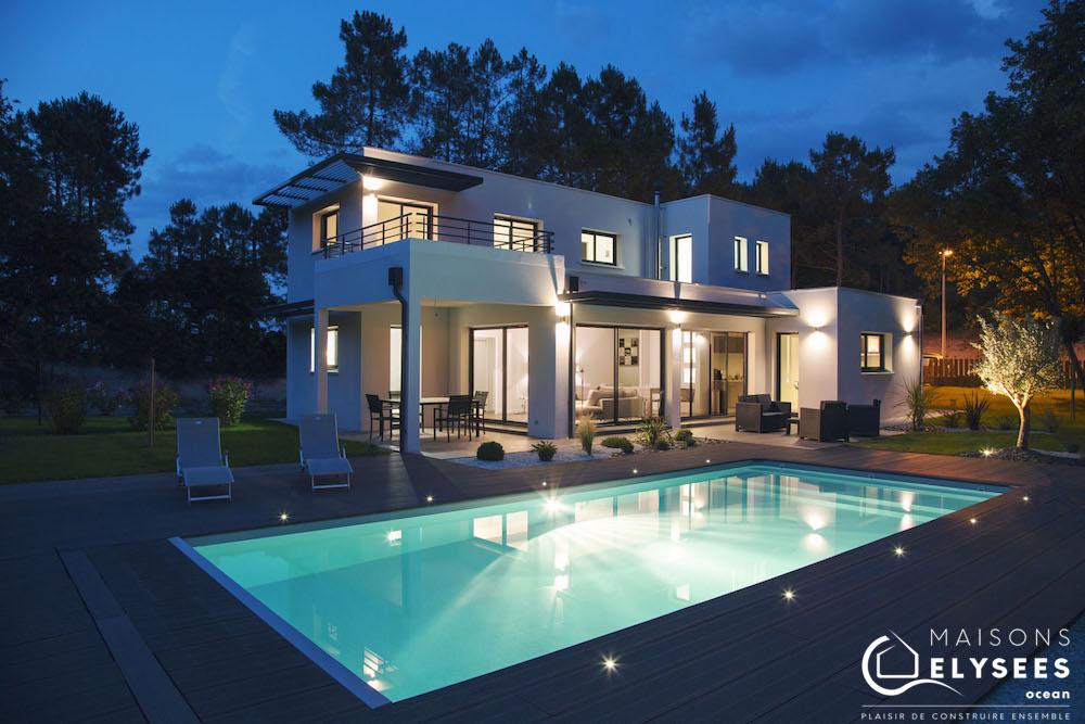 Populaire Superbe maison d'architecte contemporaine AJ27