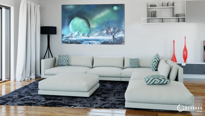 Venus vue interieure 3D