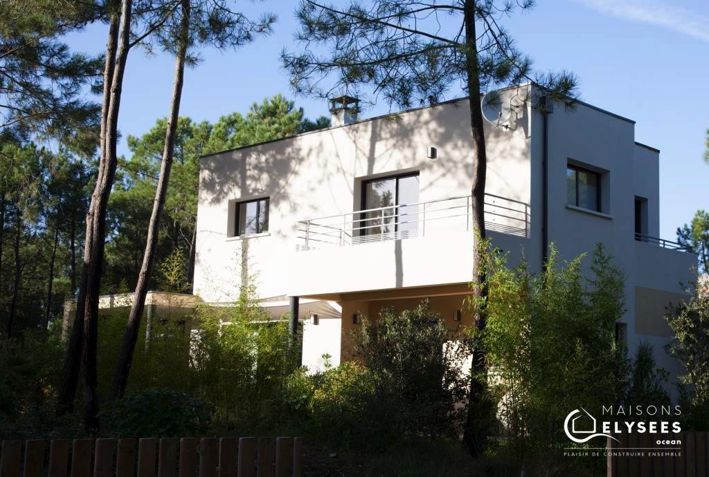 maison contemporaine sur la palmyre 17570