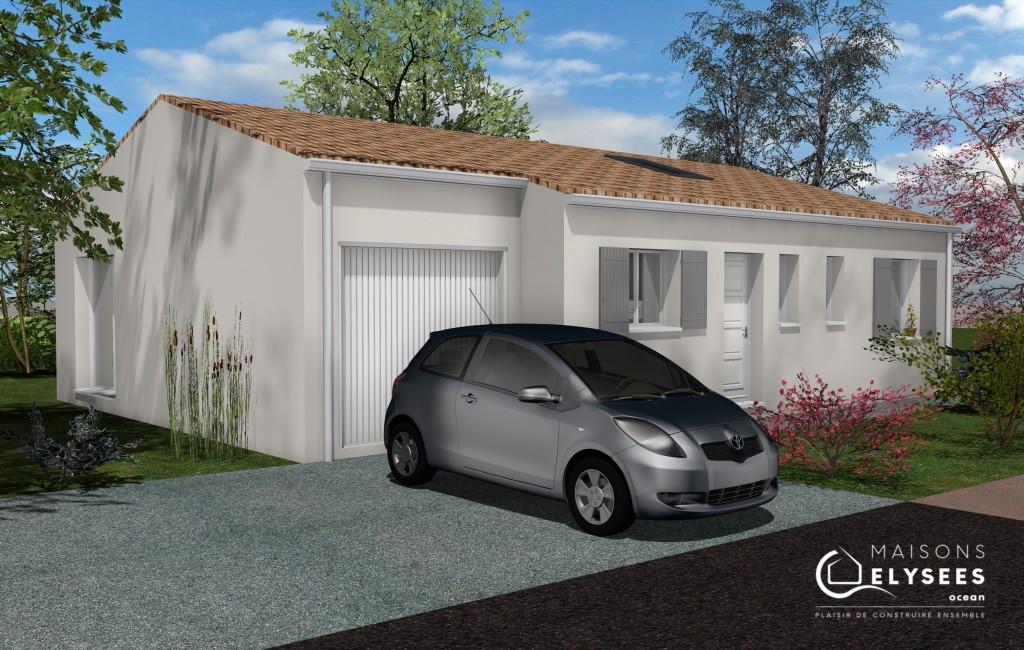 maison d eplain pied en Charente Maritime