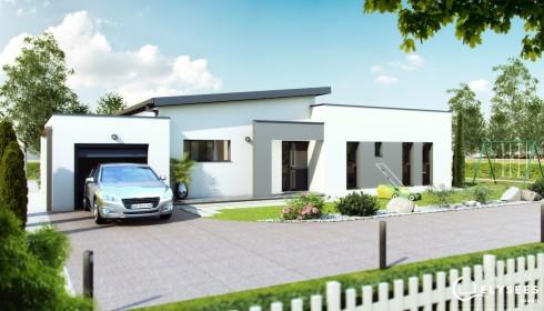 Maisons contemporaines d couvrez nos plans et mod les for Modele de maison contemporaine architecte