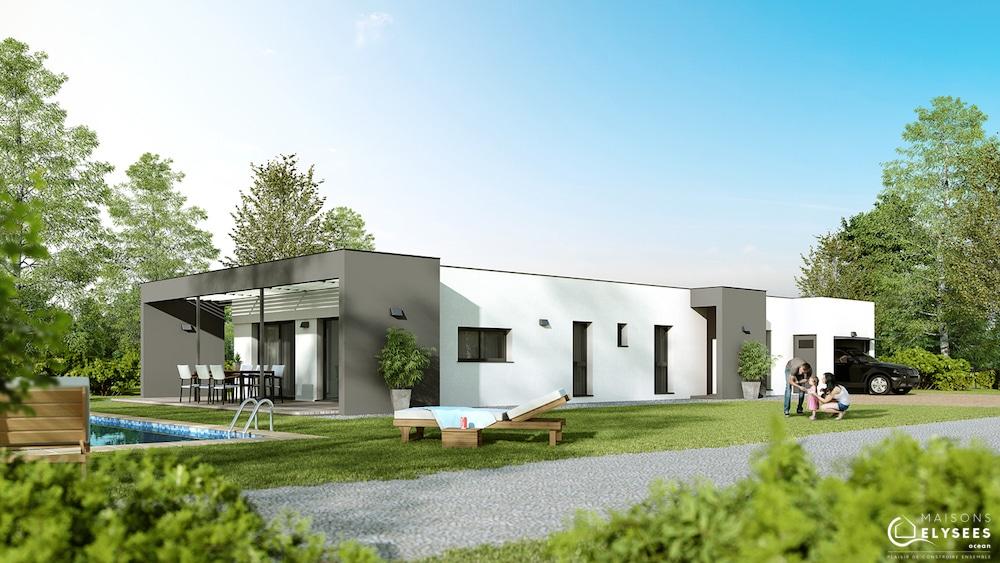 maison contemporaine Linea