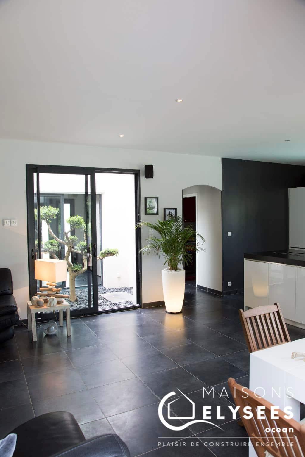 Maison Moderne Avec Patio Interieur maison contemporaine avec patio
