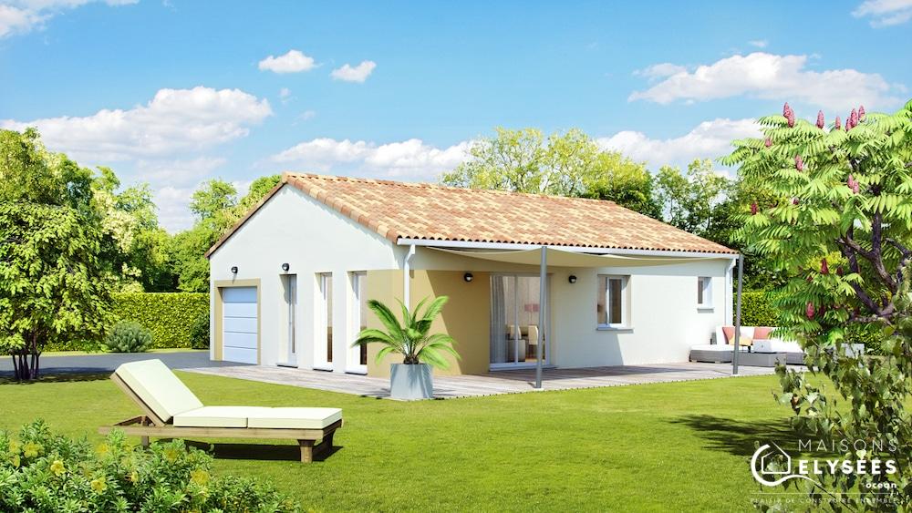 okapia maison de plain pied sud1