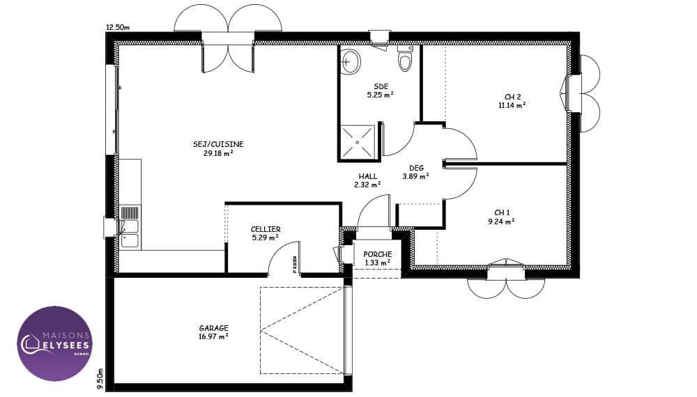 Plan Maison Traditionnelle 80 M Ooreka 10