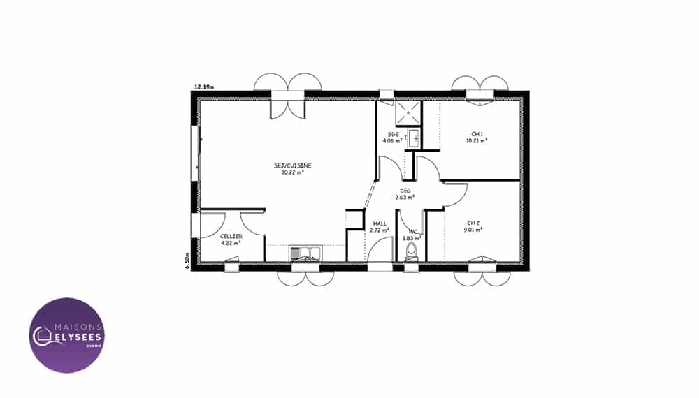plan-maison-traditionnelle-Plan-IONA-65m