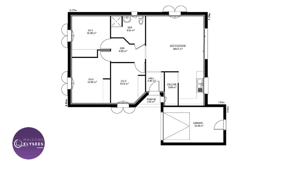 plan-maison-traditionnelle-Plan-IONA-77.5m