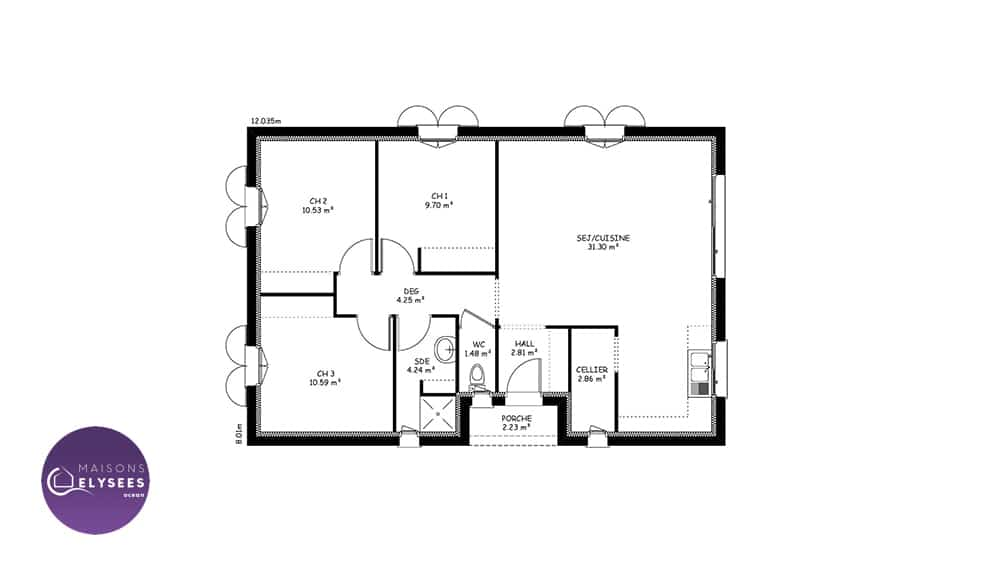plan-maison-traditionnelle-Plan-IONA-77.8m