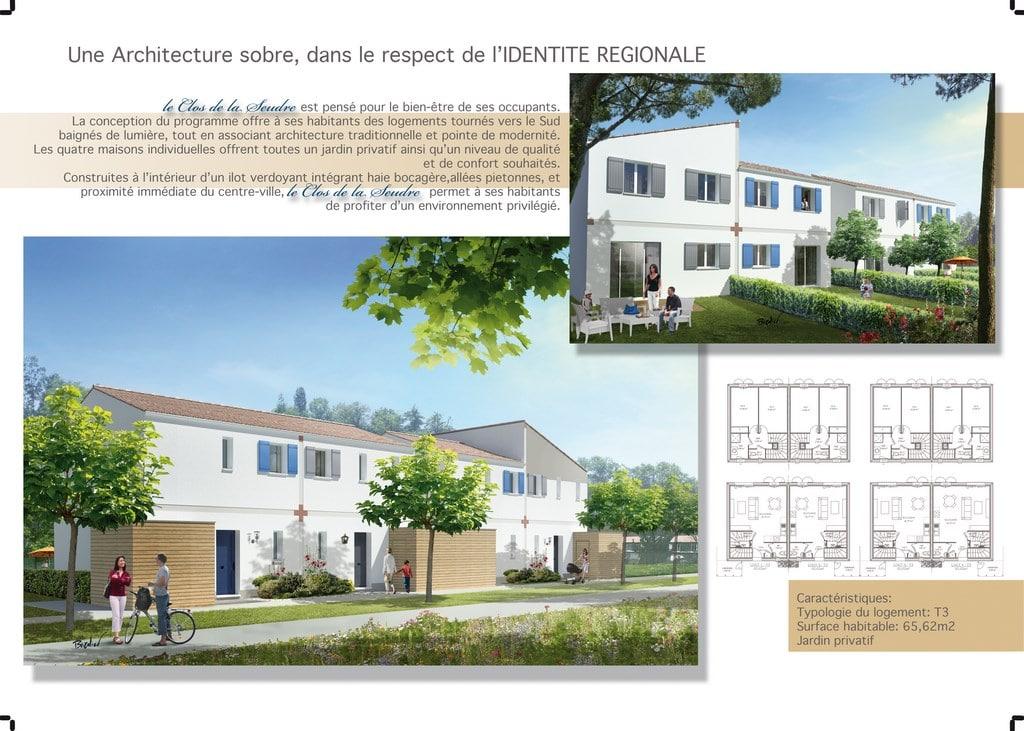 Plans maisons  Saint augustin Charente Maritime