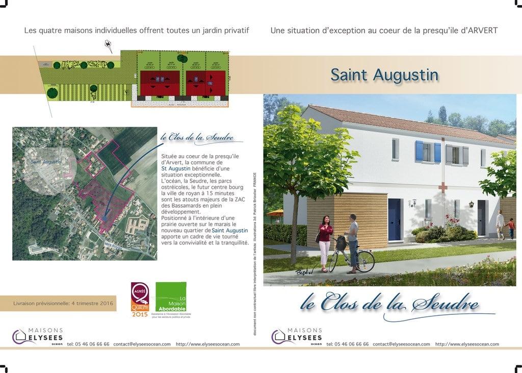 Plans maisons saint augustin 17
