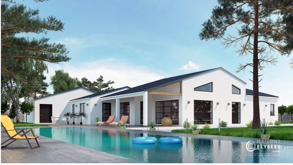 Magnifique maison de plain pied en Charente Maritime
