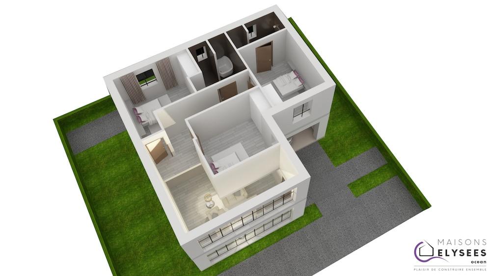 Plan 3D Maison solium2