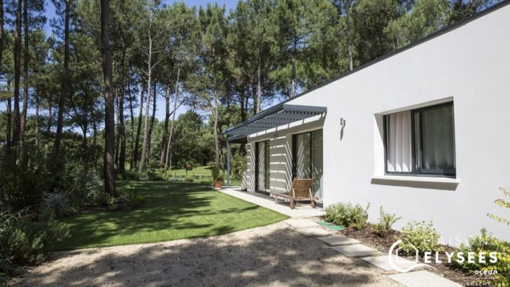 Maison contemporaine sur un golf Les Mathes 17