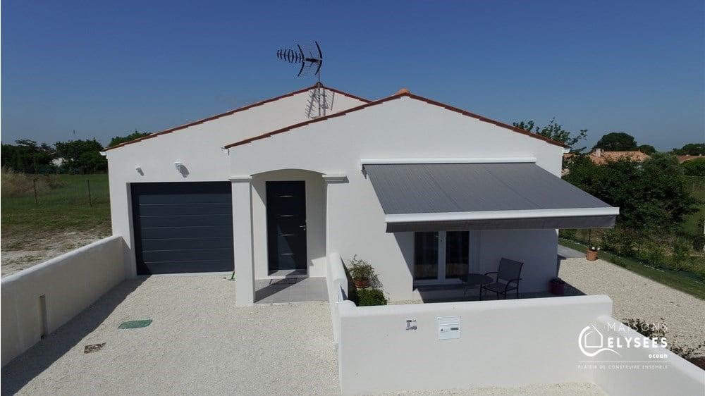 Construction d'un maison de plain pied 90 m² sur Médis 17