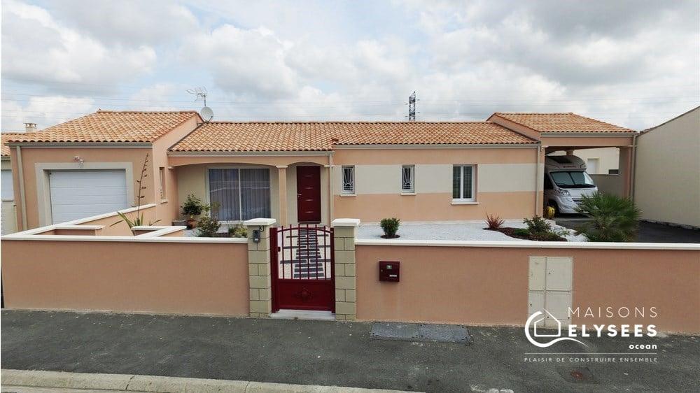 Constructeur maisons Saujon Charente Maritime 17600