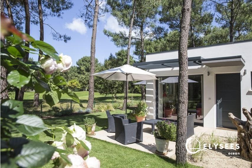 maison contemporaine sur un golf Charente Maritime BER 16 (2)