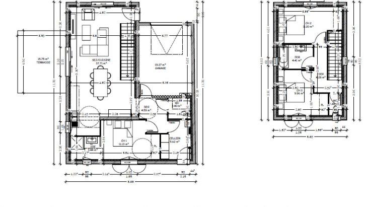 Plan maison investisseur Charente Maritime