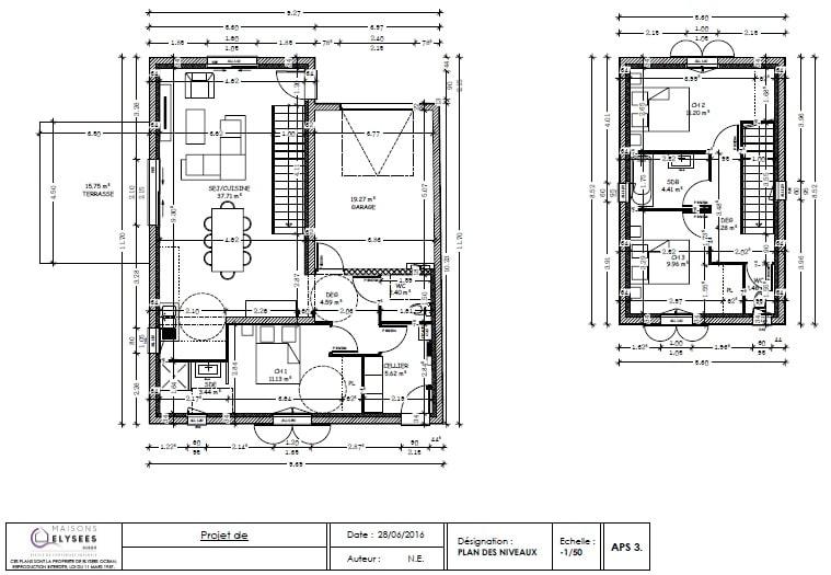 Plan Interieur Maison En L Excellent Great Logiciel Gratuit Plan