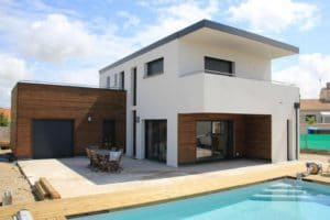 Maison contemporaine en Charente Maritime