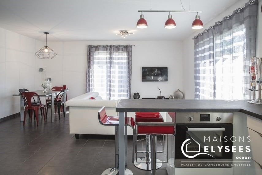 Sejour cuisine maison moderne Etaules 17 PER HD (20) (Copier)