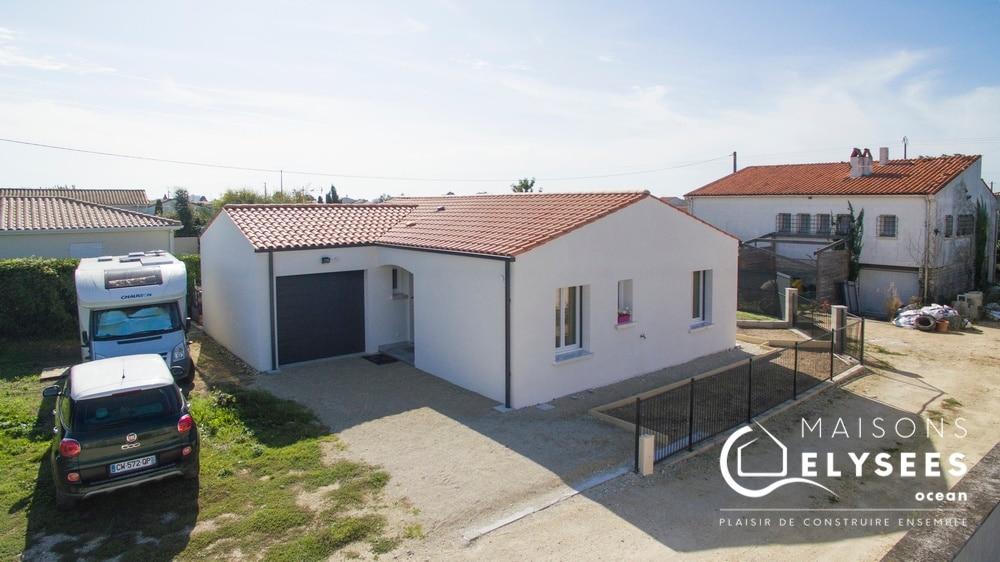 Maison de plain pied à Meursac en Charente Maritime