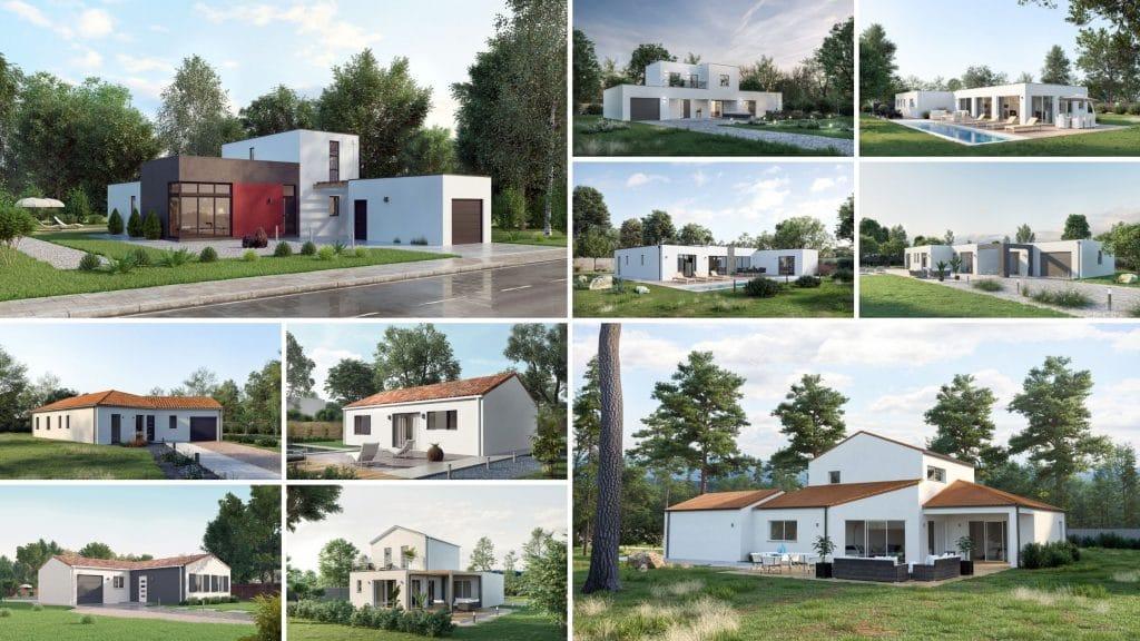 Nouveaux modèles de maisons