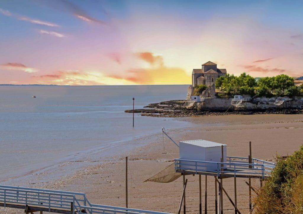 Talmont sur Gironde - village de Charente Maritime